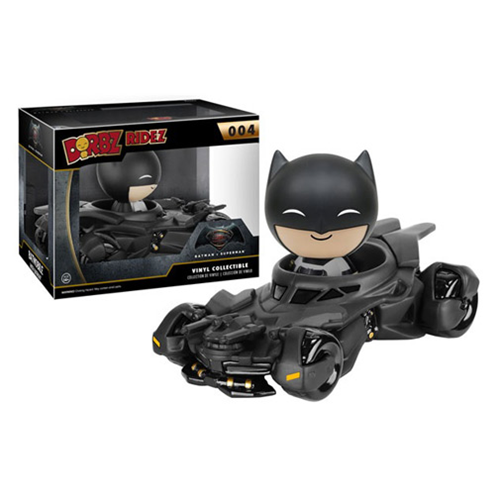 Batman v Superman Dawn of Justice Batmobile Dorbz Ridez with Batman Vinyl Figure