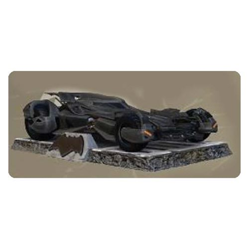 Batman v Superman Dawn of Justice Batmobile Finders Keyper Statue