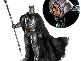 Batman v Superman Dawn of Justice Battle Damaged Armored Batman 1 10 Scale Statue