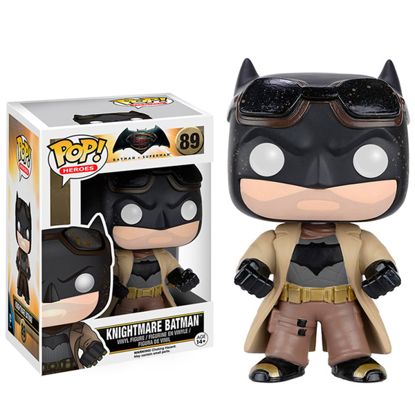 Batman v Superman Dawn of Justice Knightmare Batman Pop Vinyl Figure