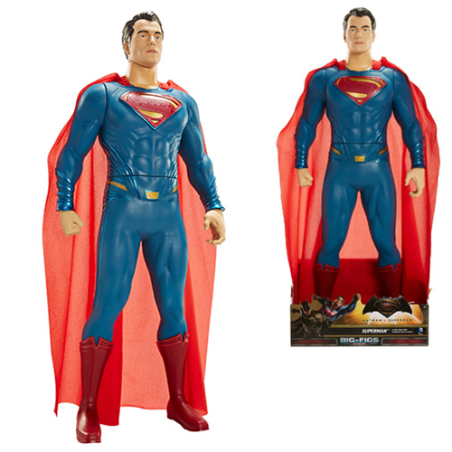 Batman v Superman Dawn of Justice Superman 31-Inch Scale Big Figs Action Figure