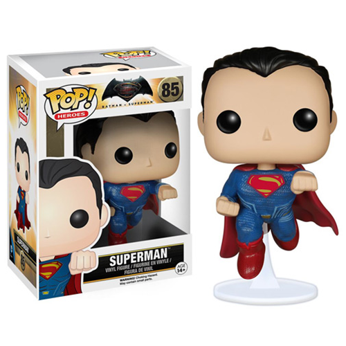 Batman v Superman Dawn of Justice Superman Pop Vinyl Figure