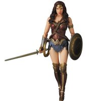 Batman v Superman Dawn of Justice Wonder Woman MAF Action Figure - small