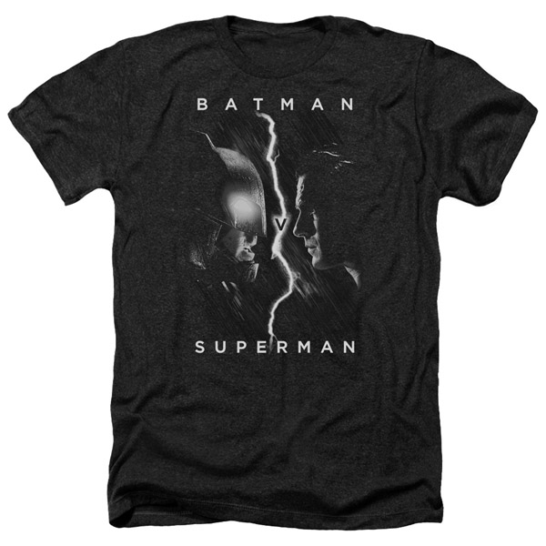 Batman v Superman Face-to-Face T-Shirt