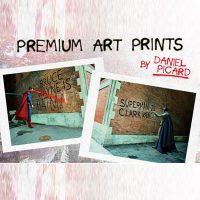 Batman v Superman Graffiti War Art Prints - small