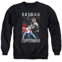 Batman v Superman Hero Split Sweatshirt