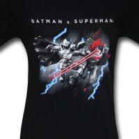 Batman v Superman Lasers and Lightning Shirt