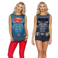 Batman v Superman Muscle Tops - small