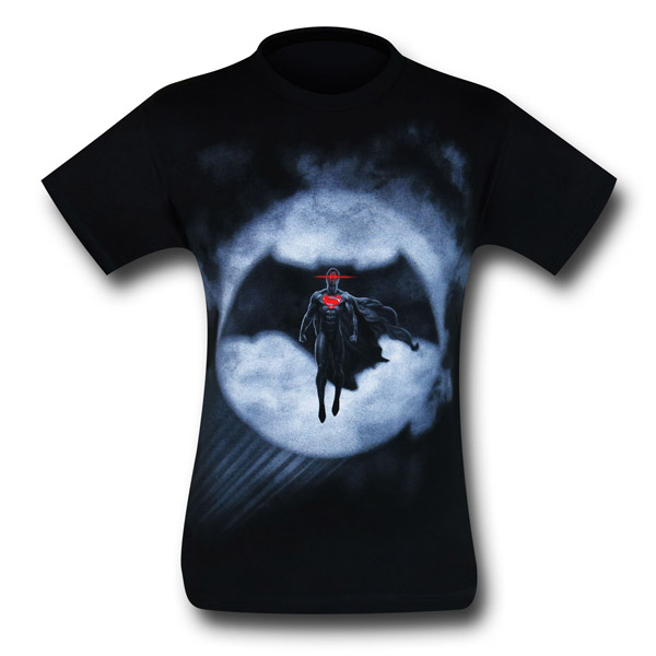Batman v Superman Signal Silhouette T-Shirt