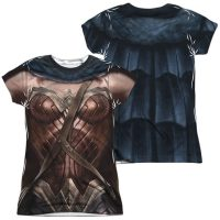Batman v Superman Wonder Woman Suit FB Sub Juniors T-Shirt