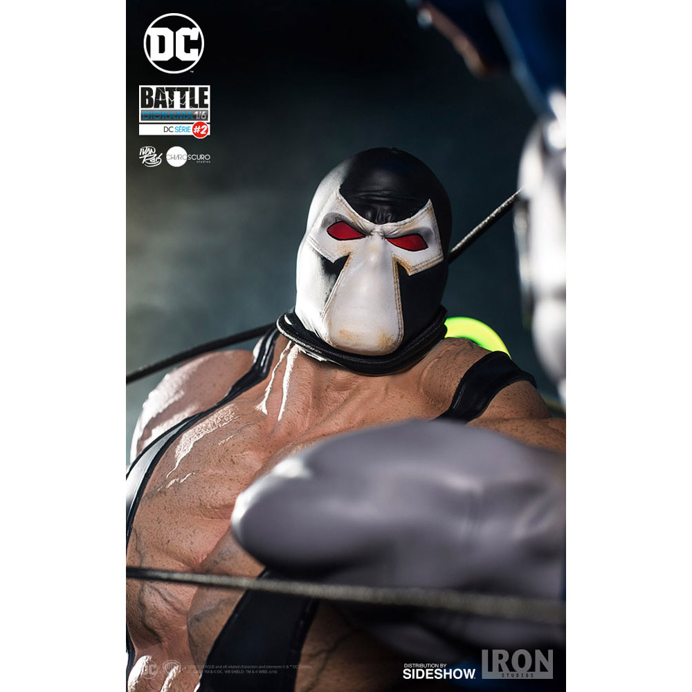batman vs bane diorama