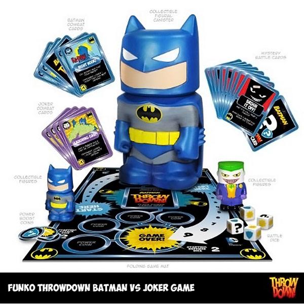 Batman vs Joker Throwdown Game