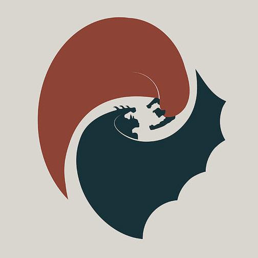 Batman Vs Superman Minimalist Poster