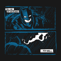 Batman vs Superman Tell Me Shirt