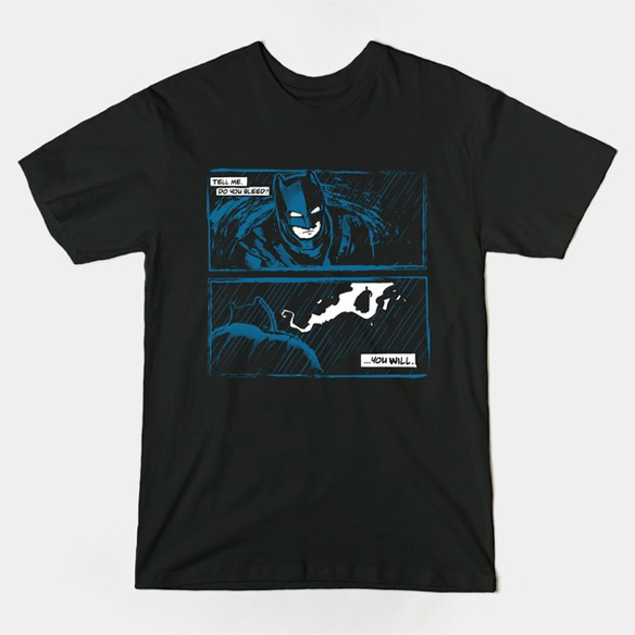 Batman vs Superman Tell Me T-Shirt