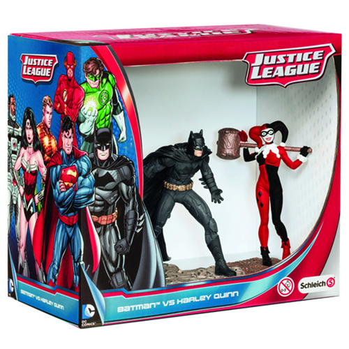 Batman vs. Harley Quinn PVC Figurine 2-Pack