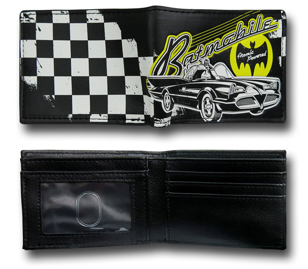 Batmobile Bi-Fold Wallet
