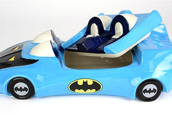 Batmobile Ceramic Cookie Jar