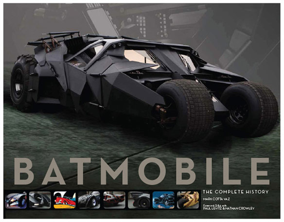 Batmobile The Complete History Book