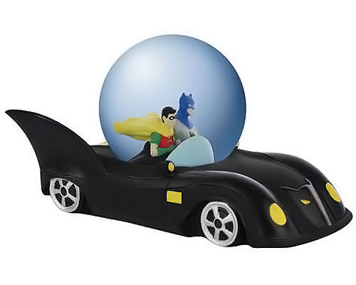 Batmobile Water Globe