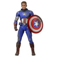 Battle Damaged Captain America Action Figure