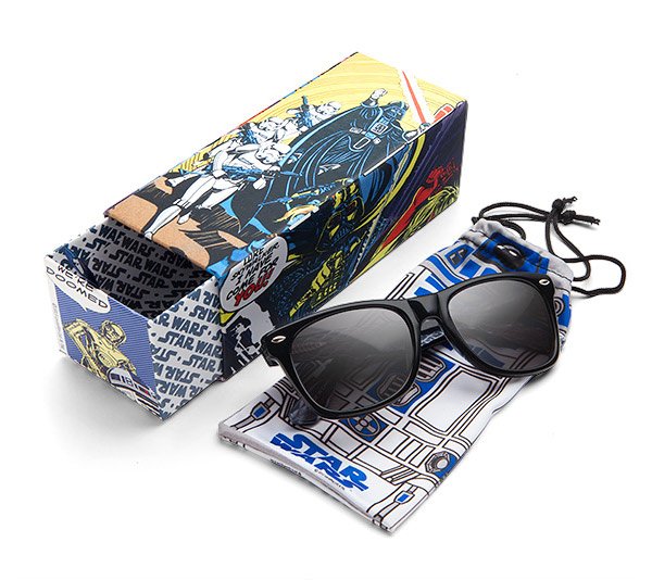 Battle Logo Wayfarer Sunglasses