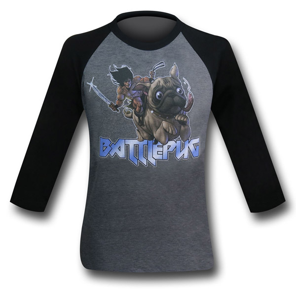 BattlePug Charge Raglan T-Shirt