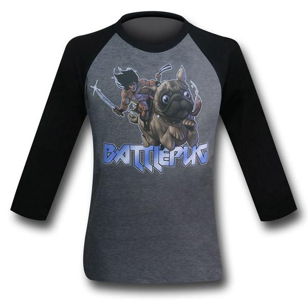 BattlePug Charge Raglan T-Shirt