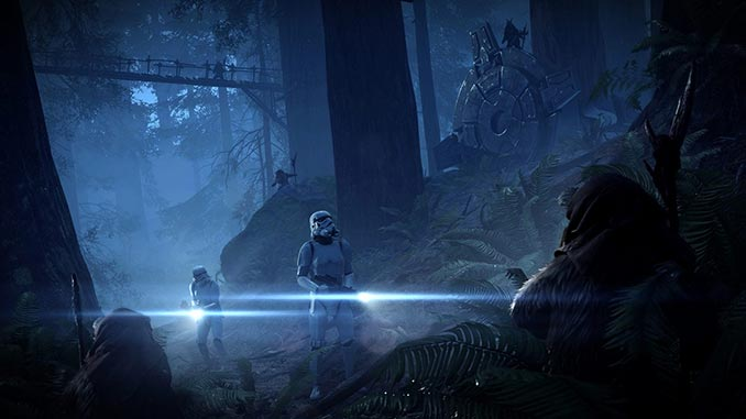 Battlefront 2 Ewok Hunt