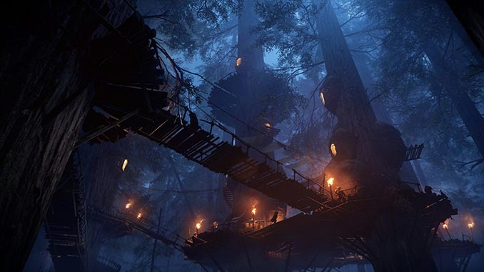 Battlefront Ewok Hunt Night on Endor