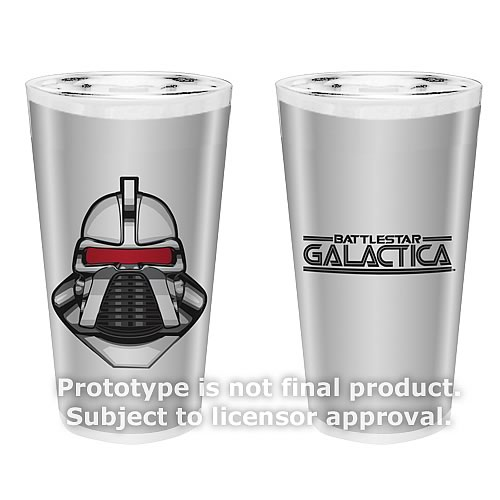 Battlestar Galactica 16 oz. Glass Set of 2