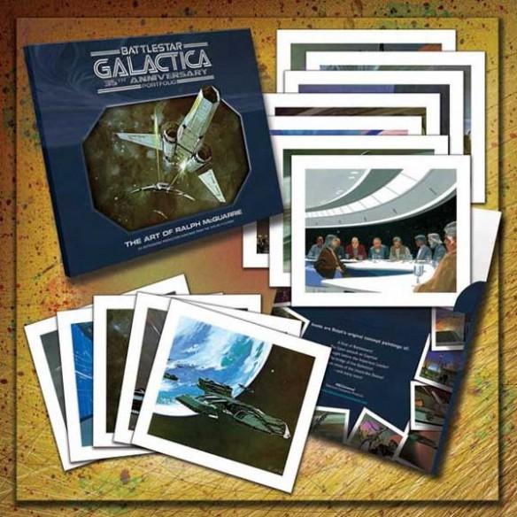 Battlestar Galactica 35th Anniversary Art Of Ralph McQuarrie Portfolio