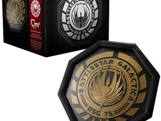 Battlestar Galactica Colonial Seal Coaster Set