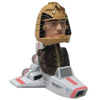 Battlestar Galactica Colonial Viper with Apollo Bobble Head