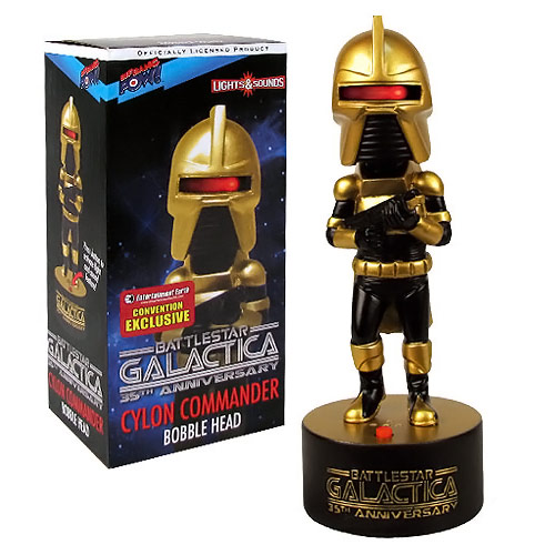 Battlestar Galactica Cylon Commander Bobble Head