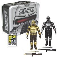 Battlestar Galactica Cylons with Tin Tote - SDCC Exclusive