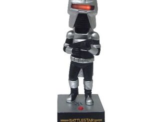 Battlestar Galactica Electronic Cylon Centurion Bobble Head