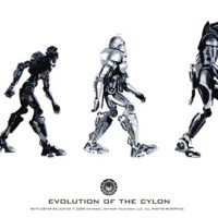 Battlestar Galactica Evolution of the Cylon Poster