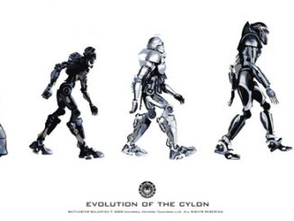 Battlestar Galactica Evolution of the Cylon Poster