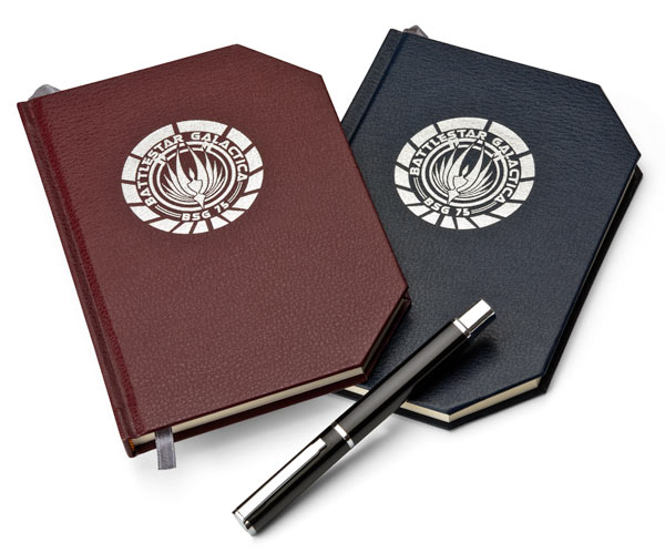 Battlestar Galactica Notebooks