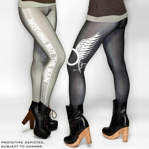 Battlestar Galactica Nothing But The Rain Leggings Colors
