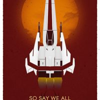 Battlestar Galactica So Say We All 10th Anniversary Poster