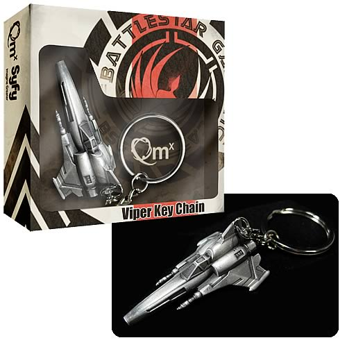Battlestar Galactica Viper Mark II Replica Key Chain