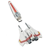 Battlestar Galactica Viper Ship Replica USB 8 GB Flash Drive