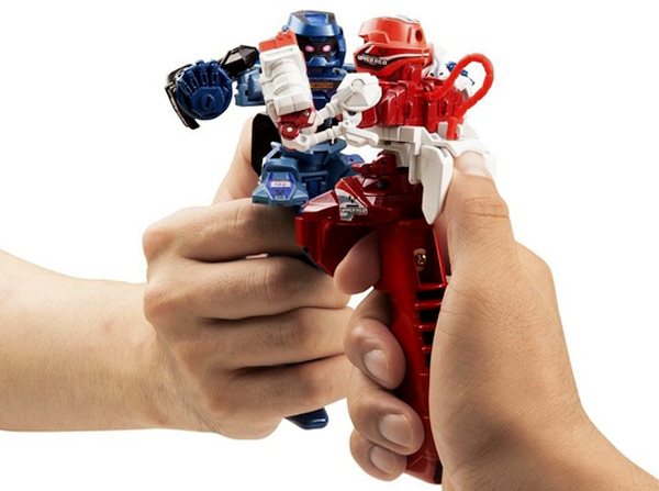 Battroborg Fighting Robots Thumb War