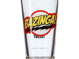 Bazinga Pint Glass
