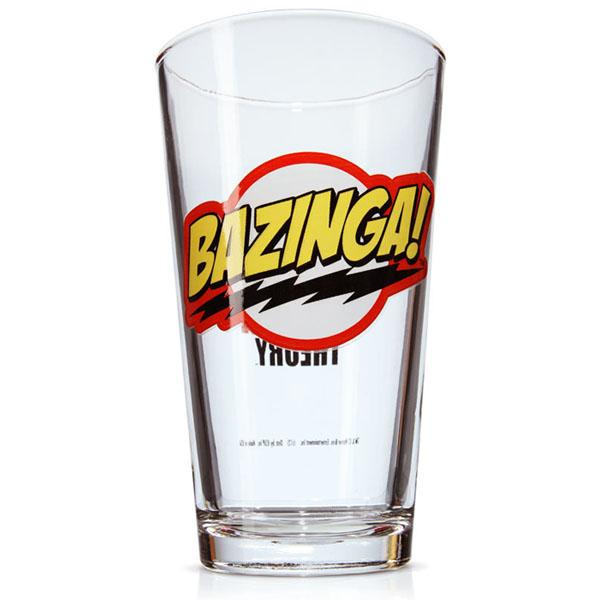 Bazinga Pint Glass