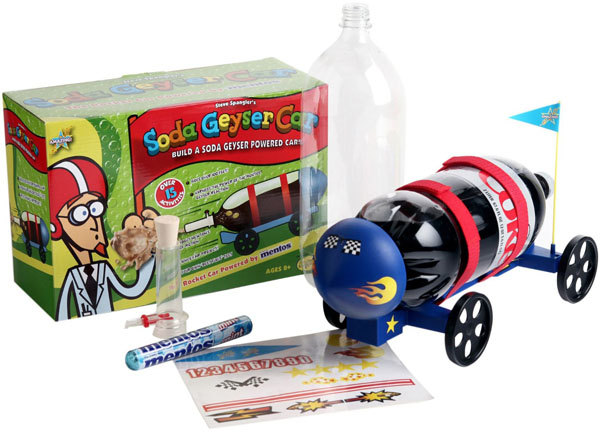 Be Amazing Toys Geyser Rocket Car