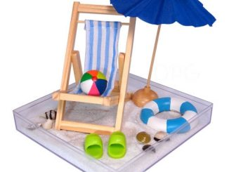 Beach in a Box Desk Accessory