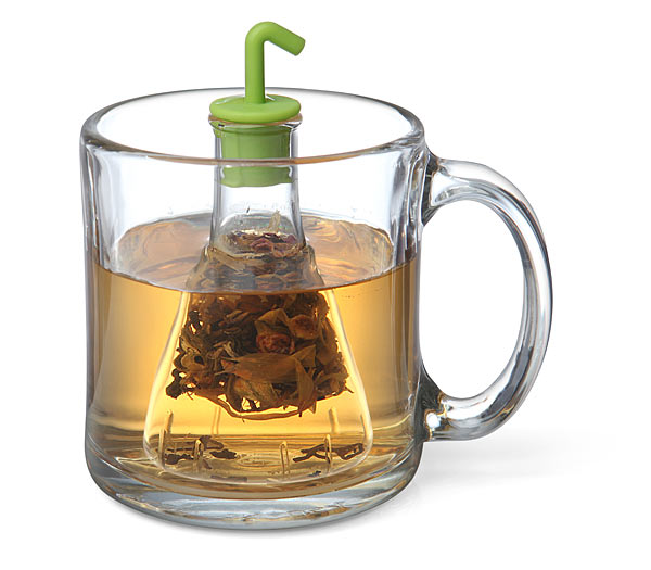 When it is tea time in the lab, take a break and make some tea with this Beaker Tea Infuser. It matches your equipment if you are a scientist type. Making ...